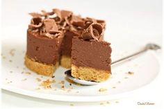 Cheesecake chocolat ricotta sans cuisson