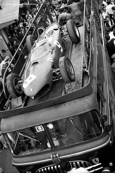 pinterest.com/fra411 #vintage #formula1 - scuderia sharknose!