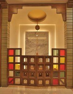 God Room Design Door Pooja room door designs in wood and glass are very popular. Wooden doors add some ethnic charm. 156 Best Temple Images Pooja Room Design Pooja Rooms P.