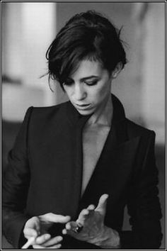 Charlotte Gainsbourg by Peter Lindbergh