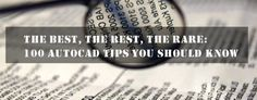100 Best AutoCAD tips