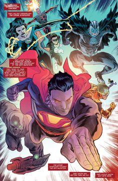 Justice League #46 interior art by Francis Manapul *