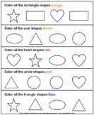 shapes worksheets for kindergarten Preschool Assessment, Preschool Lessons, Preschool Learning, In Kindergarten, Preschool Activities, 3 Year Old Preschool, 4 Year Old Activities, Kindergarten Math Worksheets, Free Preschool