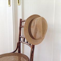 Vintage Panamahut von garagesale auf DaWanda.com