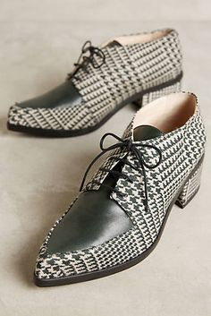 Lenora Plaid Tessa Oxfords