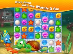 Fishdom: Deep Dive Mod Apk v1.0.67 (Mod Money)   Fishdom: Deep Dive Mod Apk v1.0.67 (Mod Money)  Root Needed: NO  Name of Mod(s): Unlimited Money  Game Overview:  Never Fishdomed before? Take a deep breath and dive into the underwater world of match-3 fun with Fishdom: Deep Dive!  Engage in challenging and fun match-3 gameplay with unique twists as you decorate tanks to create cozy homes for lovely fish. Feed them play with them and watch them interact with each other. Hey your finned…
