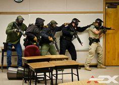 AEX At Regional Police Training Exercise