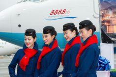 【China】 Xiamen Airlines cabin crew / 厦門航空 客室乗務員 【中国】 Hats, Hat, Hipster Hat
