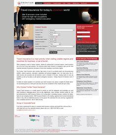 Frontier Travel Insurance