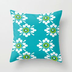 18x18 Blue Outdoor Cushion 18 x 18 Outdoor by crashpaddesigns, $48.00