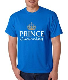 Men's T Shirt Prince Charming Cool Funny Humor Top
