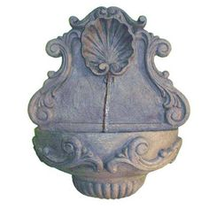 Tea Stain Tuscany Indoor/Outdoor Wall Fountain Craft Tex Ladybug Outdoor Fountains Outdoo