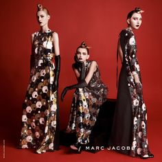 Julia, Molly, and Cierra • Marc Jacobs Fall '15 campaign photographed by David Sims