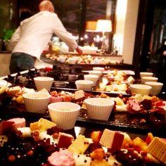 Tijd voor een toetje!  Van dit 'Grande dessert' genieten jij en je gasten tot laat in de avond...