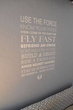 The epic lifestyle of a Star Wars fan deserves its own rules. Live by them, thrive by them.  #starwars
