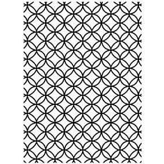 Darice 1218-69 Prägeschablone, Überschneidende Kreise, Plastik, transparent, 10,8 x 14,6 x 0,4 cm: Amazon.de: Küche & Haushalt