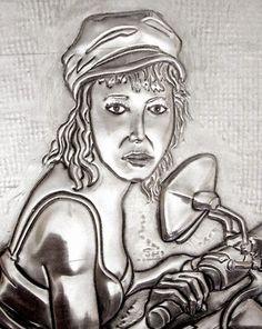 ArteyMetal: Retrato de Yolanda