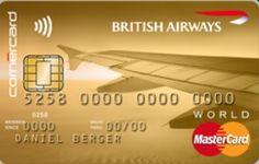 British Airways   Mastercard Gold   Corner Bank