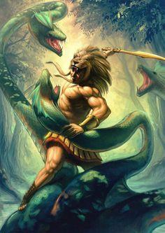 Hércules vs Hidra
