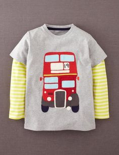I've spotted this @BodenClothing Big Vehicle T-shirt Grey Marl/Bus