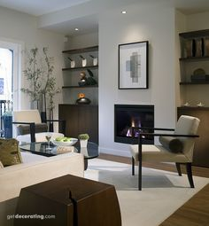 living room, zen
