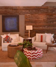 Uma decoração despojada e muito elegante. Veja: http://www.casadevalentina.com.br/blog/materia/integra-o-entre-dentro-e-fora.html #decor #decoracao #interior #design #home #house #casa #style #living #livingroom #sala #saladeestar #estilo #idea #ideia #details #detalhes #casadevalentina