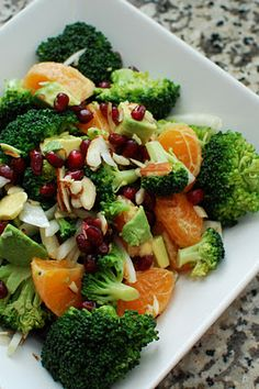 Broccoli and Fruit Salad