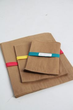 Kraft Paper Bag Assortment Pack Lot of 120 by leboxboutique, $23.00