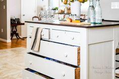 Need More Kitchen Storage? Turn a Dresser Into an Island