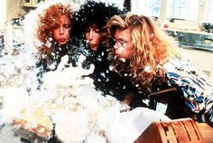 The Witches of Eastwick - Publicity still of Michelle Pfeiffer, Susan Sarandon & Cher. The image measures 2500 * 1629 pixels and was added on 14 November Movie Night Outfits, The Witches Of Eastwick, The Neon Demon, Halloween Film, Gypsy Spells, It's All Happening, Susan Sarandon, Season Of The Witch, Michelle Pfeiffer