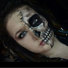 32 Skeleton Makeup Transformations For a Halloween Beyond the Grave | POPSUGAR Beauty UK Photo 16