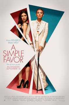 A Simple Favor – Anna Kendrick – U.S Movie Wall Poster Print - x / 12 inches x 17 inches Blake Lively 2018 Movies, Hd Movies, Movies Online, Movie Tv, Best Movies 2017, Movies Free, Movie Songs, Watch Movies, Latest Movies