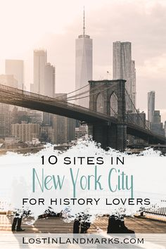 10 of the best historical sites in New York City - Lost In Landmarks New York Travel Guide, New York City Travel, New York City Tours, Great Places, Places To Go, Amazing Places, Weekend City Breaks, Worldwide Travel, Historical Sites