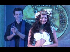 Hrithik Roshan introduces Pooja Hegde heroine of MOHENJO DARO movie.