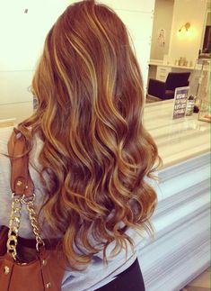 Subtle highlight and loose curls; GORGEOUS! ~ we ❤ this! moncheriprom.com