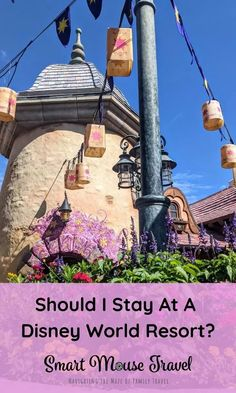 Is it worth it to stay at a Disney World resort? Here's what you should consider before booking a stay off-site for Disney World. Disney Resorts List, Disney Resort Hotels, Disney World Hotels, Disney World Theme Parks, Disney World Florida, Disney World Planning, Walt Disney World Vacations, Disneyland Resort, Disney Trips
