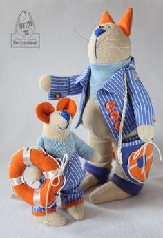 Toys+things: Игрушки ручной работы Коты