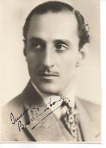 Autographed Basil Rathbone Photo