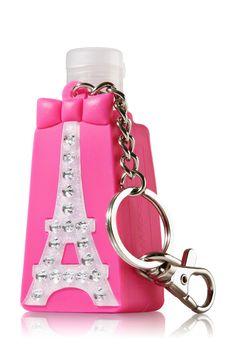 Eiffel Tower PocketBac® Holder Keychain - Bath & Body Works   - Bath & Body Works #Birthday