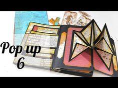 POP UP 6/ TALLER ENCUADERNACIÓN AUSTRALIANA/RETO RETOSO - YouTube Arte Pop Up, Pop Up Art, Halloween Scrapbook, Halloween Cards, Libros Pop-up, Tarjetas Pop Up, Diy And Crafts, Paper Crafts, Fun Fold Cards