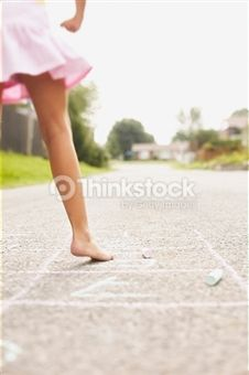 Search for Stock Photos of Hopscotch on Thinkstock