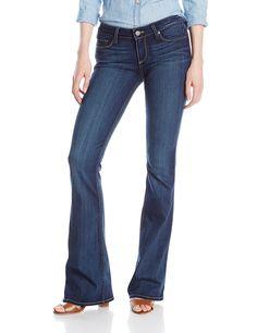 PAIGE Women's Skyline Boot Jean, Vista, 27. 8 1/8 inch rise. 34.5 inseam.