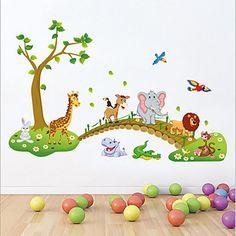 Animals+/+Cartoon+/+Still+Life+Wall+Stickers+Plane+Wall+Stickers+,+PVC+60cm*90cm+–+USD+$+6.99