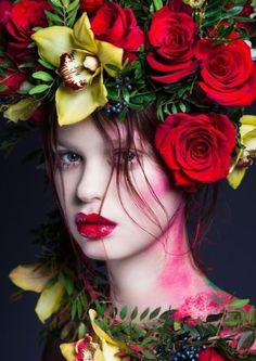36 best Ideas for flowers photography portrait floral crowns Photography Women, Beauty Photography, Portrait Photography, Fashion Photography, Photography Flowers, Editorial Photography, Foto Fashion, Fashion Art, Editorial Fashion