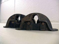 Antique Cast Iron Grind Wheel Bearings Steampunk Decor – EclectiquesBoutique.com