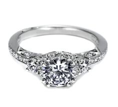 I heart this ring from TACORI! Style no: 2623RDSMP