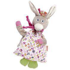Kathe Kathy Kruse Roslina Donkey Cherrystone Hot Heating Cold Ice Pack Soft Kids