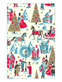 Victorian Christmas Wrapping. Victorian Christmas Wrapping - Giclee Print. Price: $49.99
