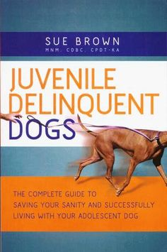 Juvenile Delinquent Dogs: The Complete Guide to Saving Your Sanity and Successfully Living with Your Adolescent Dog ** Be sure to check out this awesome product. (This is an affiliate link and I receive a commission for the sales) Stop Puppy From Biting, Puppy Biting, Dog Training Books, Training Your Puppy, Problem Solving Model, Competition Book, Dog Competitions, Dog Books, Book Signing