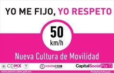 #8ConductasqueSalvanVidas Respete los límites de velocidad #YoMeFijoYoRespeto